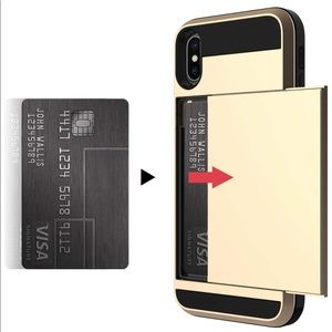 Accessories - iPhone X's Max Case with hidden credit card slot